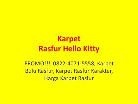 Karpet Bulu Karakter Boneka promo 0822 4071 5558 karpet bulu rasfur karpet