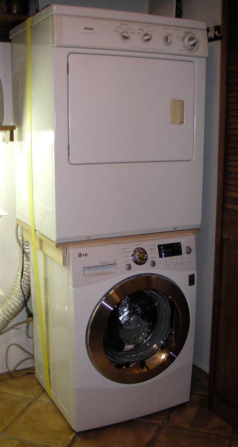 waschmaschine und trockner stapeln stacking drier on new washer