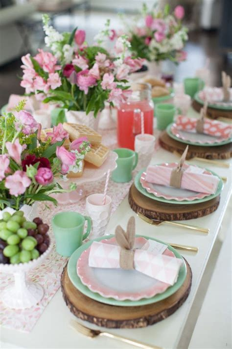 12 tablescape ideas for the prettiest easter brunch ever 17 best images about easter spring on pinterest easter