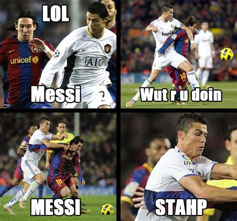 Messi Meme - image 781349 cristiano ronaldo know your meme