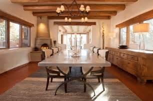 Southwestern Dining Room Furniture Santa Fe Chic Pueblo Southwestern Dining Room Other
