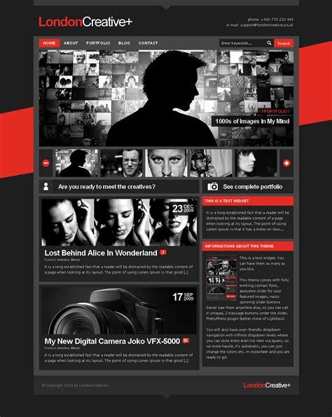wp themes london london creative portfolio blog wp theme by freshface