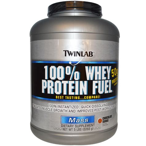 Whey Mass Twinlab 100 Whey Protein Fuel Mass Chocolate Surge 5