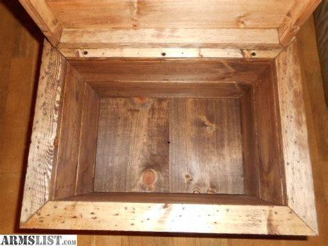 hidden wood gun cabinet armslist for sale wood ammo storage box hidden