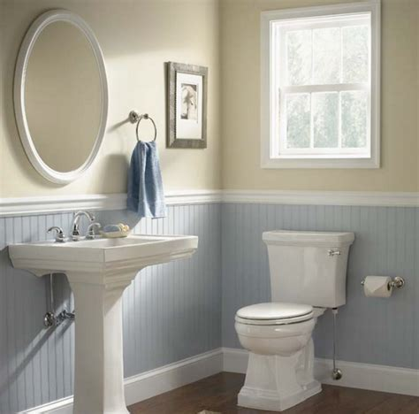 bathroom beadboard ideas bathrooms white and light blue bathroom with beadboard