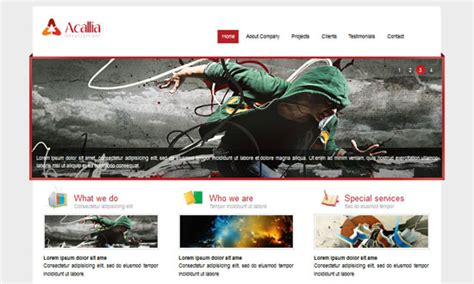 website templates free html5 with css3 jquery 30 free html5 and css3 templates design freebies