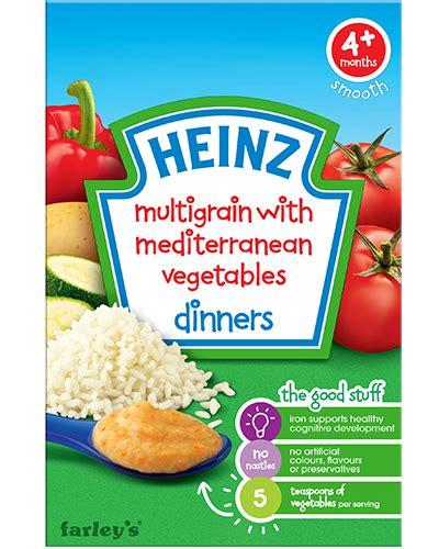 Termurah Heinz Baby Snack Porridge Cereal Multigrain Baby Foods Y New multigrain mediterranean vegetables