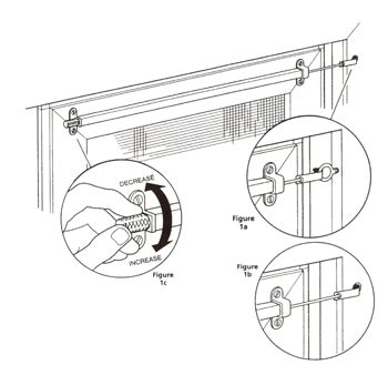 Patio Door Closer Bar And Screen Door Closer Products From Ppp Manufacturing Company