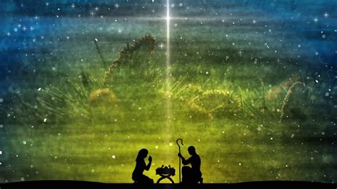 religious christmas scene featuring  stock footage video  royalty
