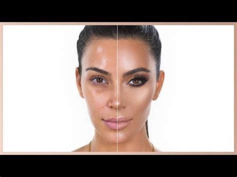 what happens when kim kardashians makeup artist does power of makeup kim kardashian west nikkietutorials