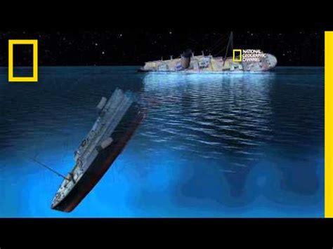 titanic 100 new cgi of how titanic sank youtube