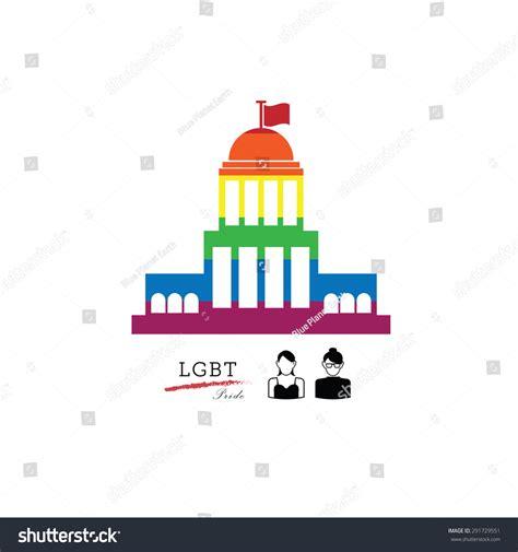 american supreme lgbt pride american supreme court vector 291729551
