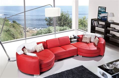 sectional sofa with round chaise outstanding round chaise lounge designs decofurnish