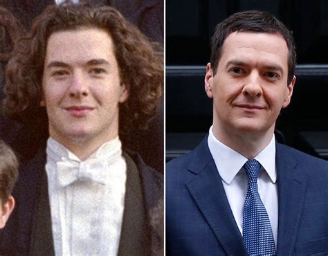 Now And Then And Osborne by Conservative Politician George Osborne