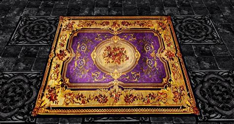 purple and gold rug second marketplace rug royal purple gold 6