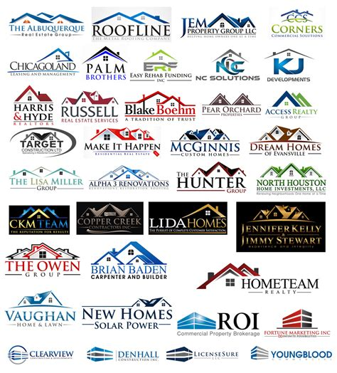 names of home design companies most common logo shapes that should be avoided