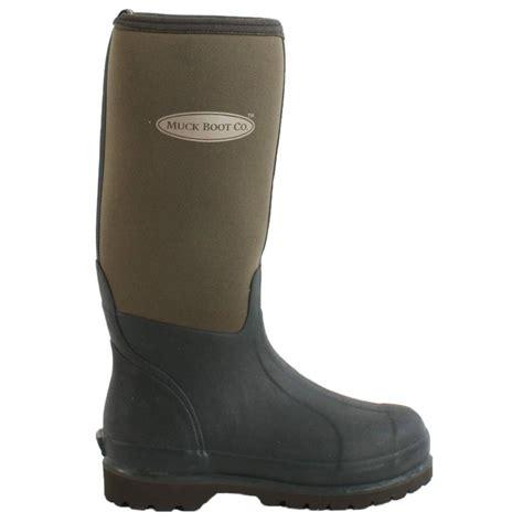 muck boots muck boot derwent wellington boots moss green redpost