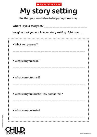 story setting template my story setting primary ks1 teaching resource scholastic