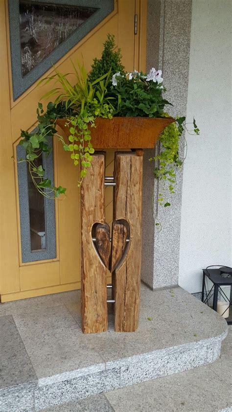 garten sachen blumens 228 ule aus alten balken wood carving