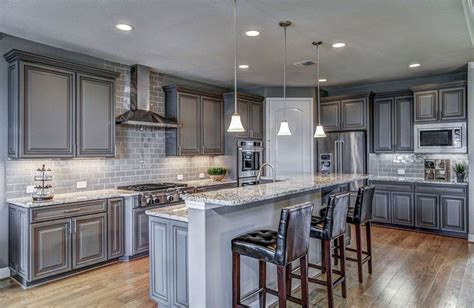 white kitchen cabinets gray granite countertops 6 design ideas for gray kitchen cabinets