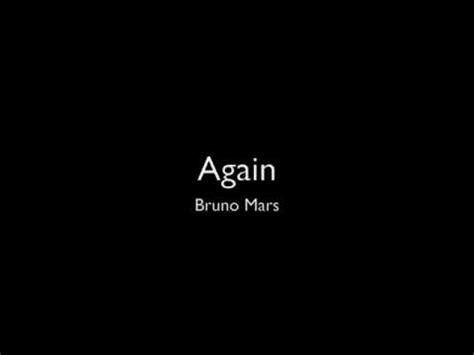 download mp3 bruno mars again again bruno mars w lyrics dl link youtube