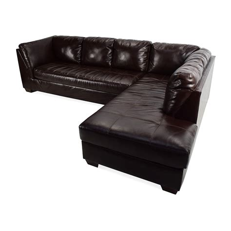 jennifer leather sectional 75 off jennifer convertibles jennifer convertibles