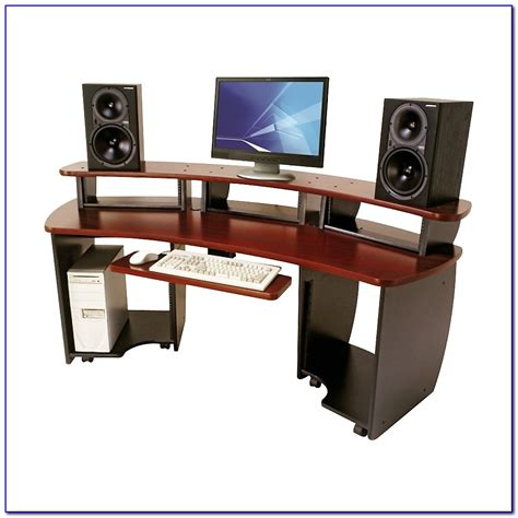 Omnirax Presto 4 Studio Desk Black Desk Home Design Omnirax 24 Studio Desk