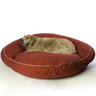 frontgate dog bed classic bolster pet beds frontgate