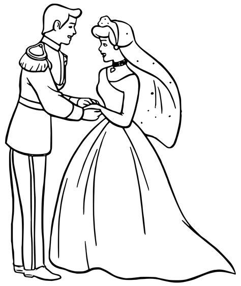 cinderella ballet coloring pages cinderella and prince charming wedding dancing coloring