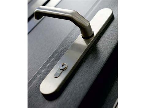 maniglie porte ingresso maniglia per porte d ingresso in acciaio inox su piastra