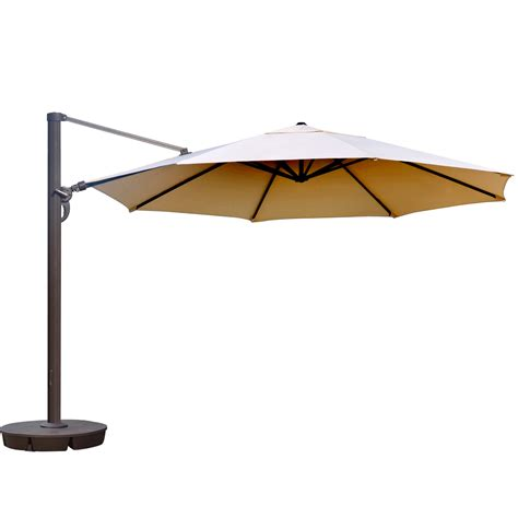 13 ft patio umbrella island umbrella 13 ft octagonal cantilever patio