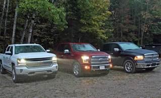 2016 ford f 150 vs ram 1500 ecodiesel vs chevy silverado