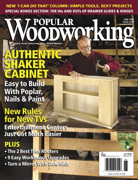 issues  popular woodworking magazine