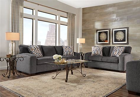 1 099 99 lucan gray 5 pc living room classic casual