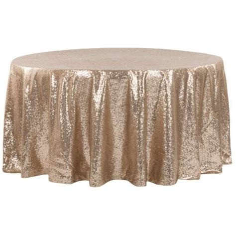 champagne sequin tablecloth purchase