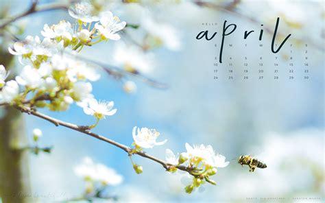 downloadable april calendar tech wallpaper