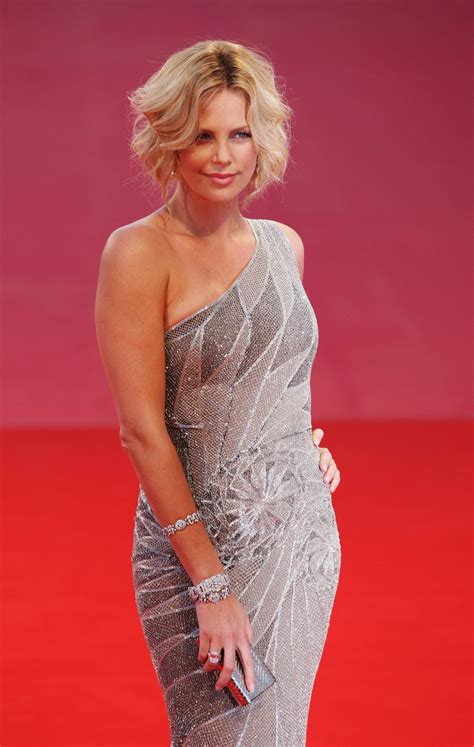 Charlize Theron Pretends To Model by Model Charlize Theron Wallpapers 6646