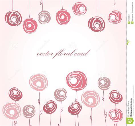 imagenes abstractas rosadas tarjeta de felicitaci 243 n con las rosas abstractas imagenes