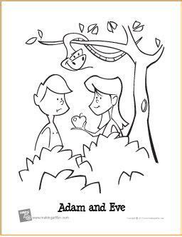 Genesis 3 Coloring Page by Adam And Garden Of Free Printable Coloring
