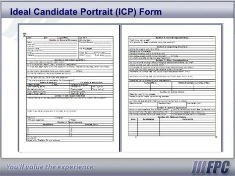 recruiting profile template generic360 template