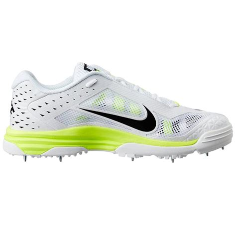 spike shoes for nike domain cricket spike shoes white and green buy nike