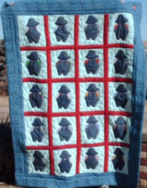 Overall Bill Quilt Pattern by Your Quilting Stories From Victoriana Quilt Designs