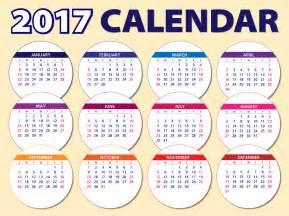 Kalender 2018 Inggris Gratis Vectorafbeelding Kalender 2017 Agenda Schema