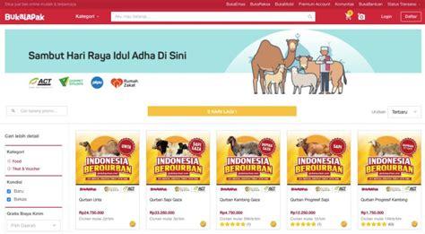bukalapak zakat kumpulan situs yang menghadirkan layanan kurban online