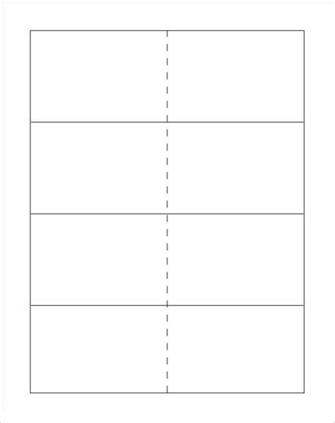 blank card template docs printable flash card template vastuuonminun