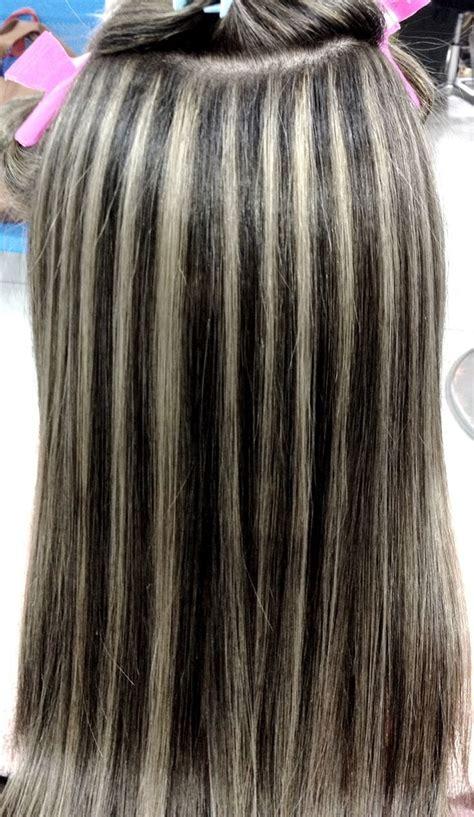como hacer highliths en el cabello mechas hair style pinterest