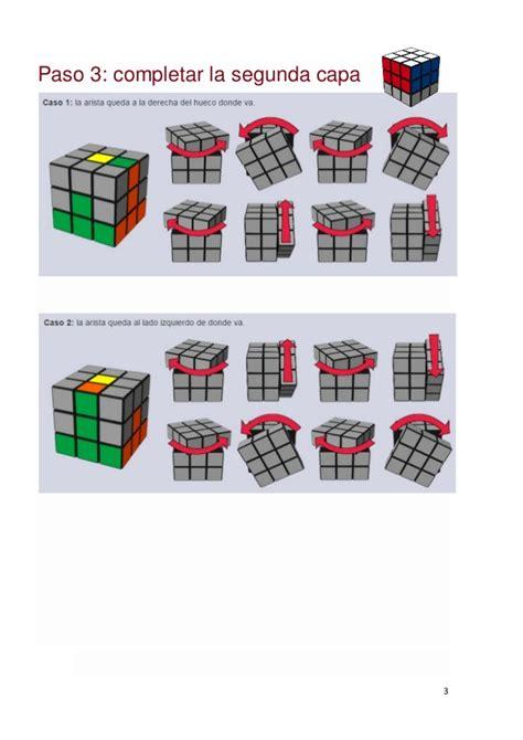 Tutorial Cubo Rubik Paso A Paso   pasos para resolver el cubo de rubik