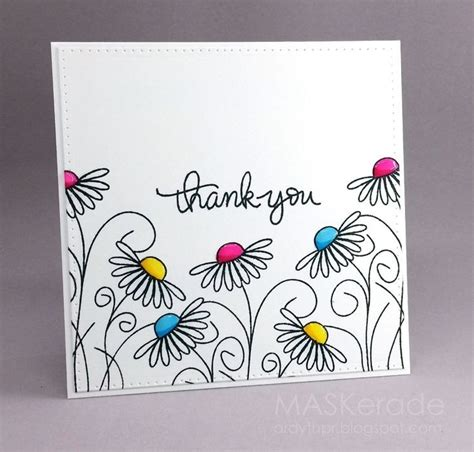 ideas for thank you cards diy thank you card ideas happyeasterfrom