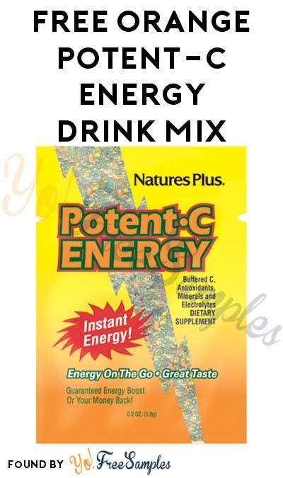 c energy drink mix free orange potent c energy drink mix yo free sles