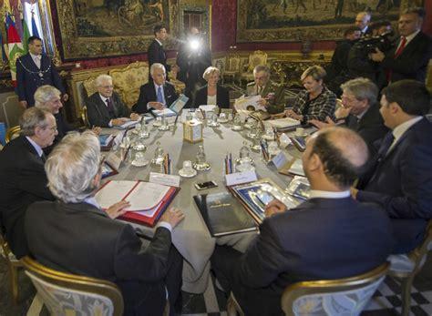 segretariato generale della presidenza consiglio dei ministri riunione consiglio supremo di difesa